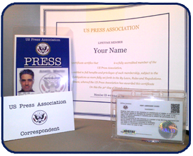 Uspa Press Credentials